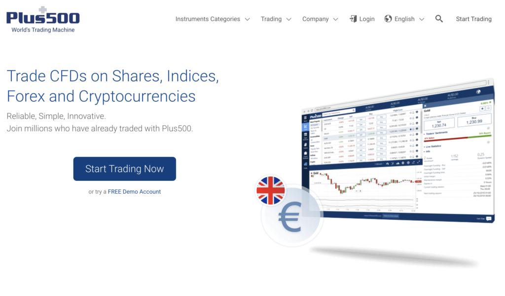 Plus500 Website Screenshot 2020-02-19