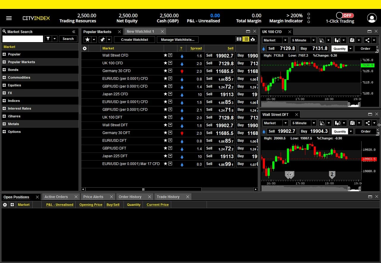 City Index Advantage Pro Screenshot