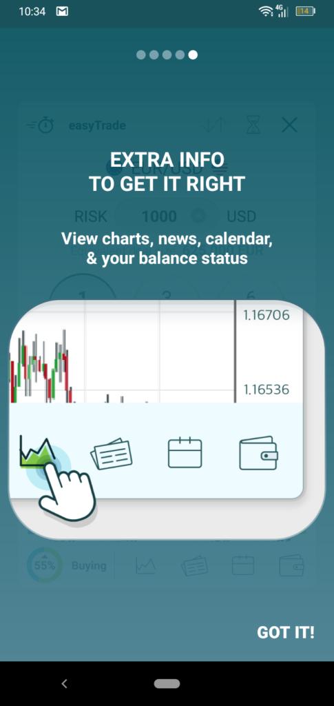 easyMarkets App Screenshot 2