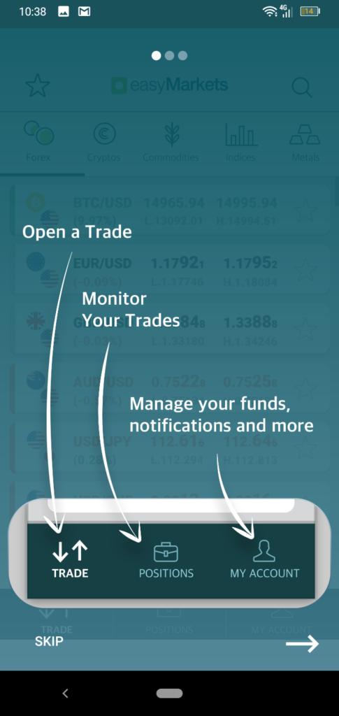 easyMarkets App Screenshot 5