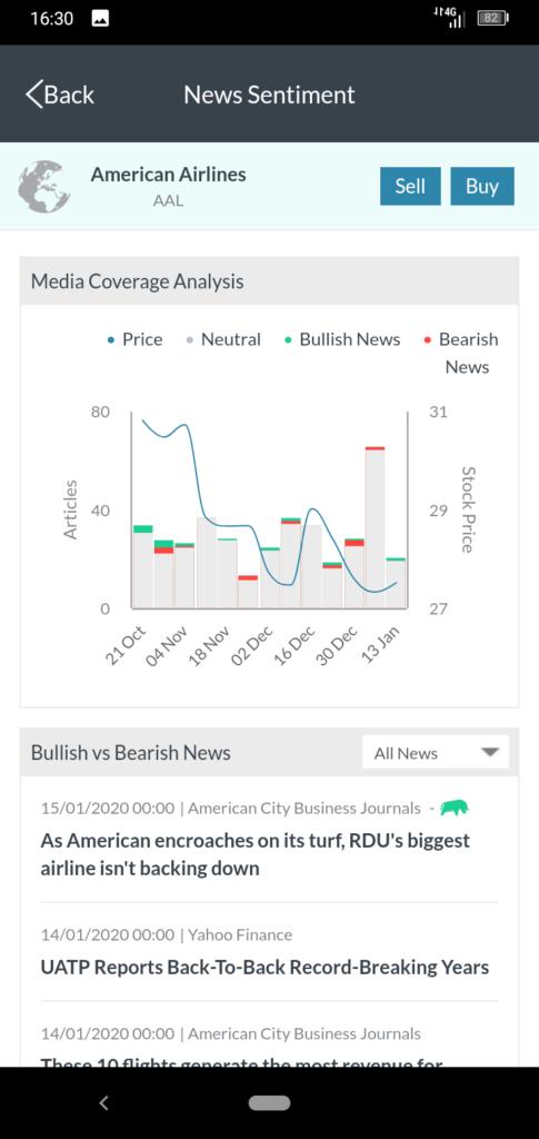 MarketsX App Screenshot 4