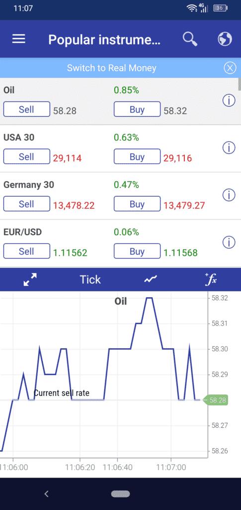 Plus500 Trading App