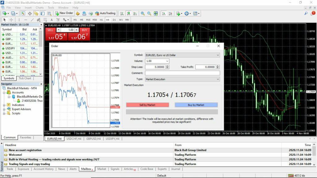BlackBull Markets Trading Platform
